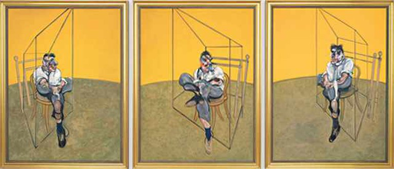 'Three Studies of Lucian Freud' (1969) by Francis Bacon | © Soerfm/WikiCommons