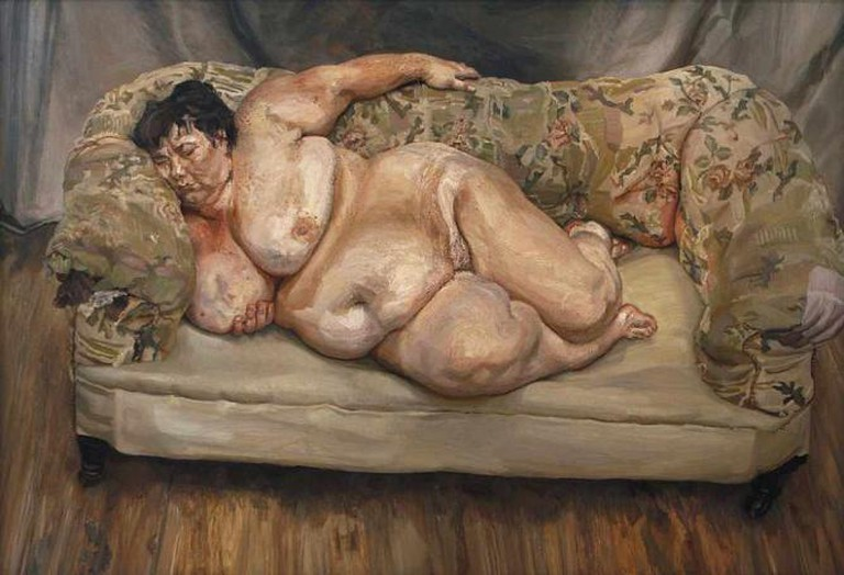 'Benefits Supervisor Sleeping' (1995) by Lucian Freud | © Art Sumo/Flickr