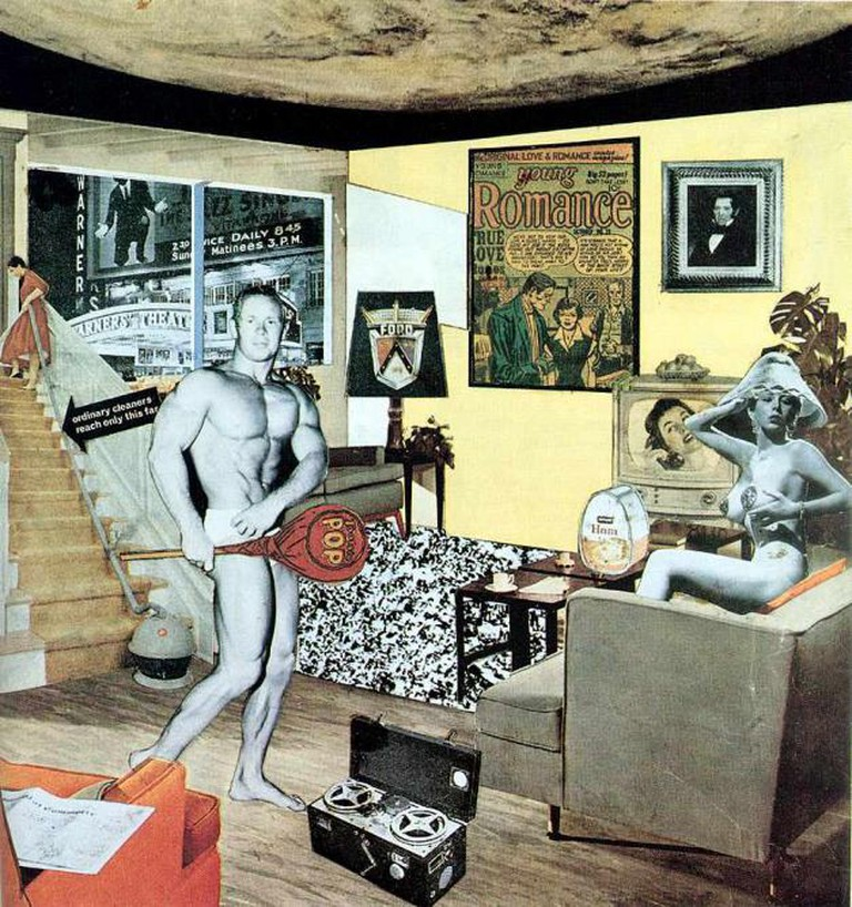 'Just what is it that makes today's homes so different, so appealing?' (1956) by Richard Hamilton | © Ian Burt/Flickr