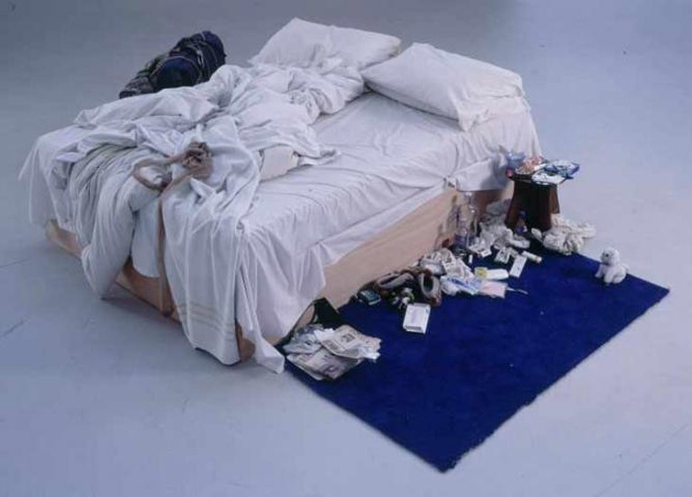 'My Bed' (1998) by Tracey Emin | © National Art Collective/Flickr