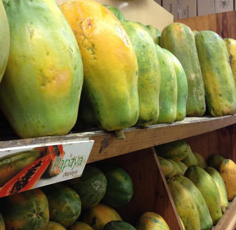 Own Image: Giant Papayas