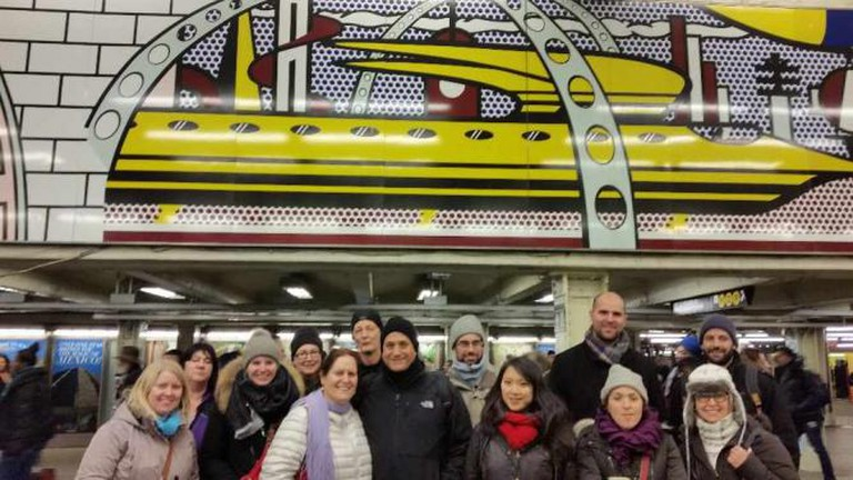 NYC Subway Art Tour