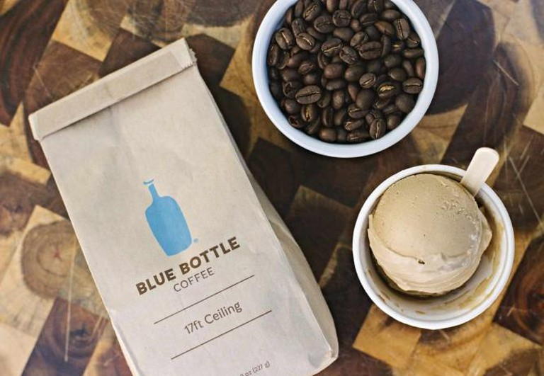 Smitten's newest Blue Bottle Espresso flavor|© Smitten Ice Cream
