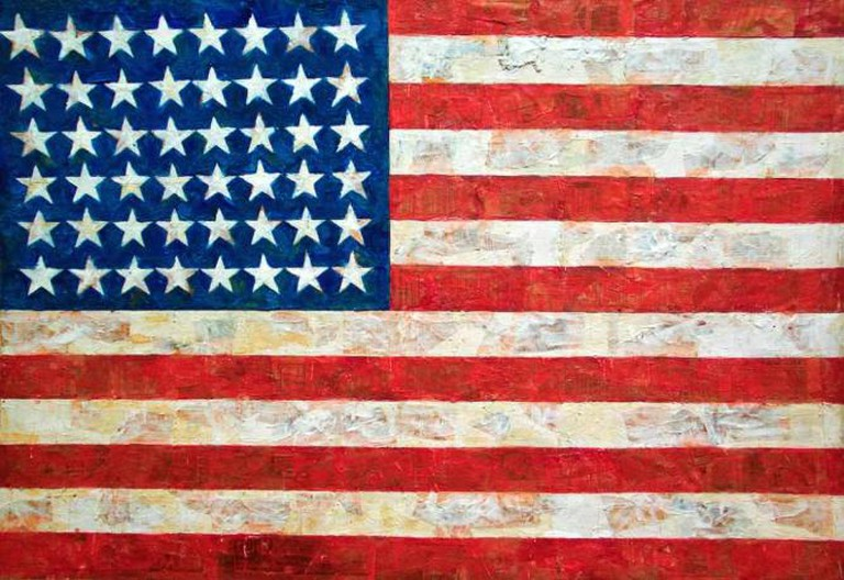 'Flag' (1954-55) by Jasper Johns | © Diego López Román/Flickr