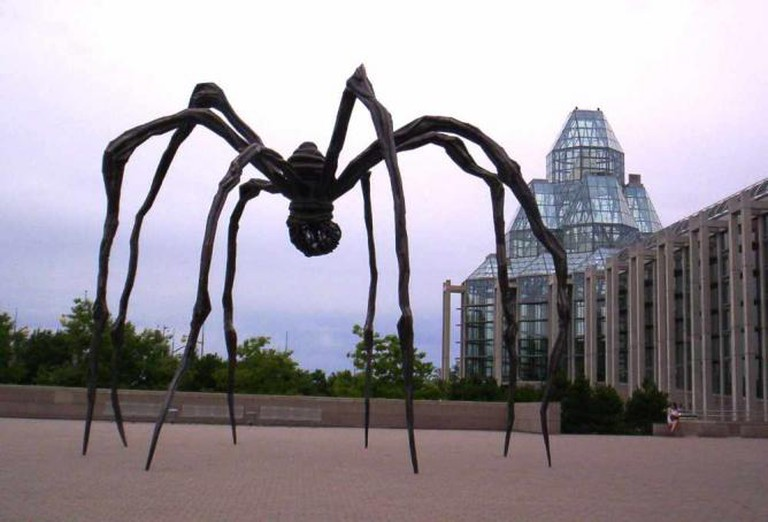 'Maman' (1999) by Louise Bourgeois installed at the National Gallery of Canada | © Radagast/WikiCommons