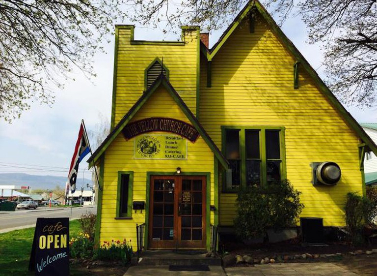 The Yellow Church Cafe | Courtesy of The Yellow Church Cafe