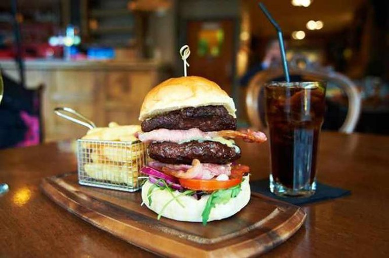 Ru burger | Courtesy Ru
