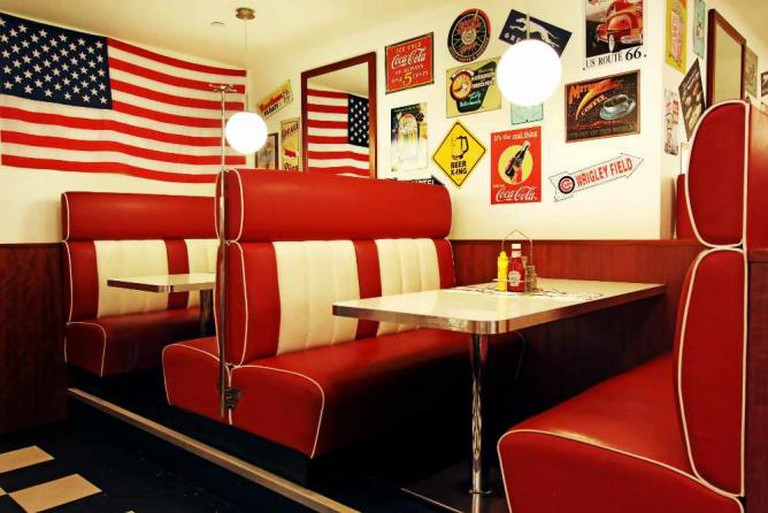 Northside Diner's retro interior | Courtesy Fenwick