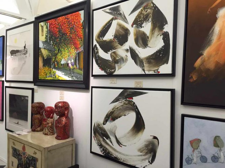 Gabriel Asian Arts at The Chelsea Art Fair © Edwina Boyd-Gibbins
