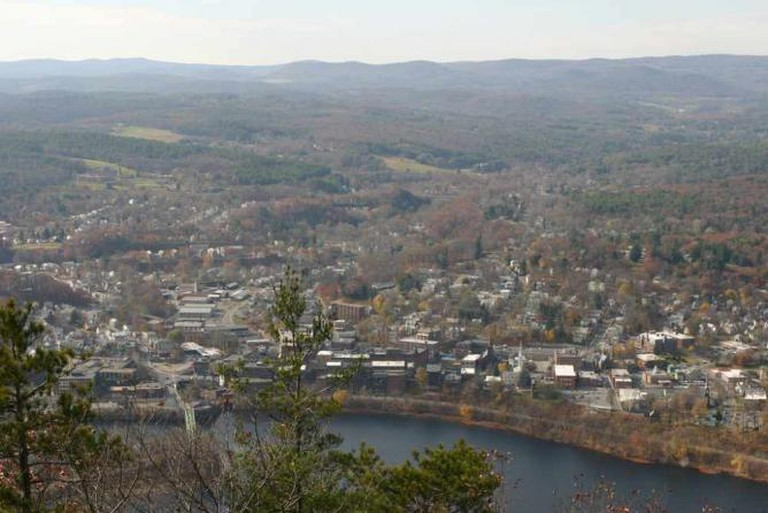 View of Brattleboro from the top of Wantastiquet | © redjar/Flickr