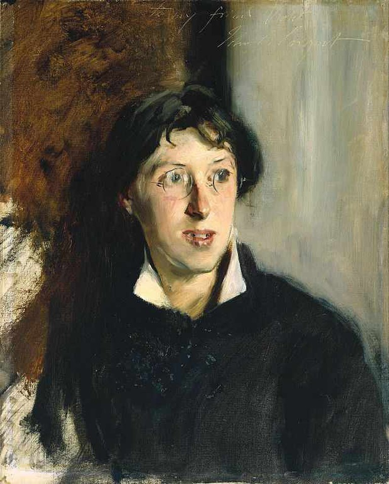 Portrait of Vernon Lee by John Singer Sargent, 1881 | © Hohum/WikiCommons
