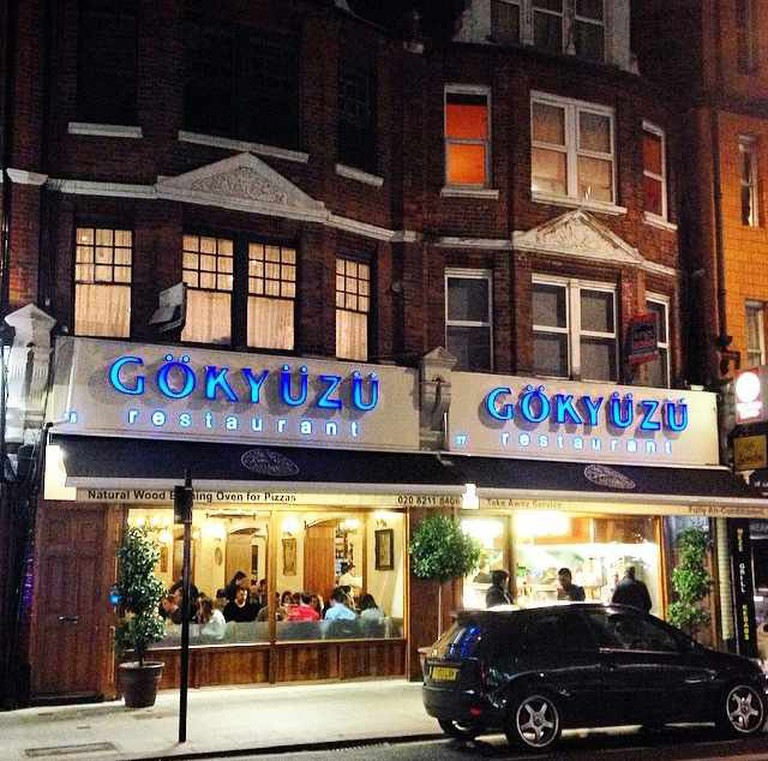 Gokyuzu restaurant in Green Lanes