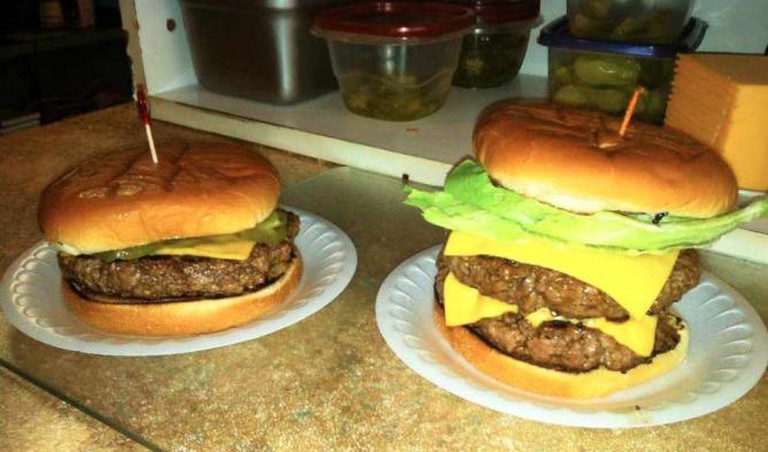 OLM Cheeseburger, Courtesy of OLM Restaurant