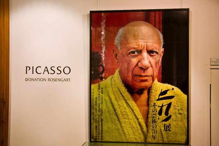 Pablo Picasso, Lucerne | © Michael Dawes/Flickr