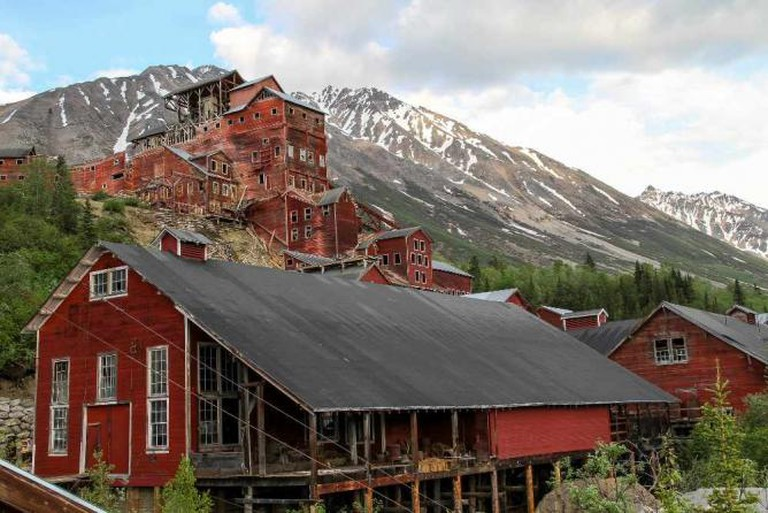 Kennecott Machine Shop and Mill Building