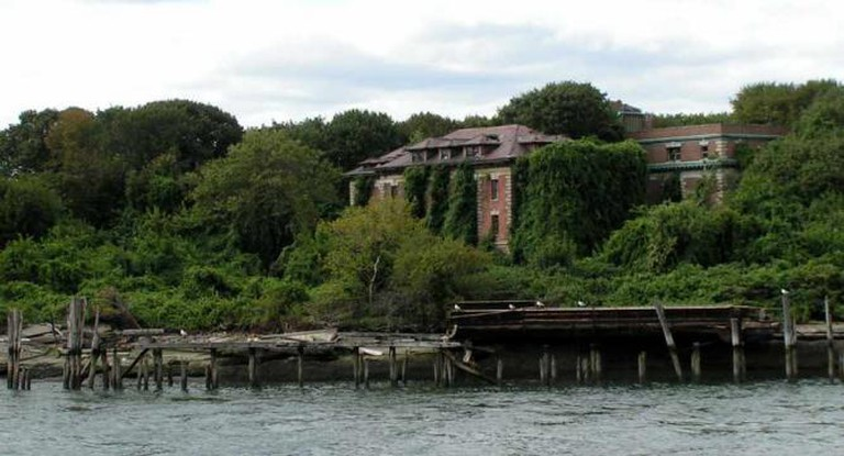 Riverside Hospital, North Brother Island, New York