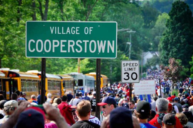 Cooperstown sign | © Chris Evans/Flickr