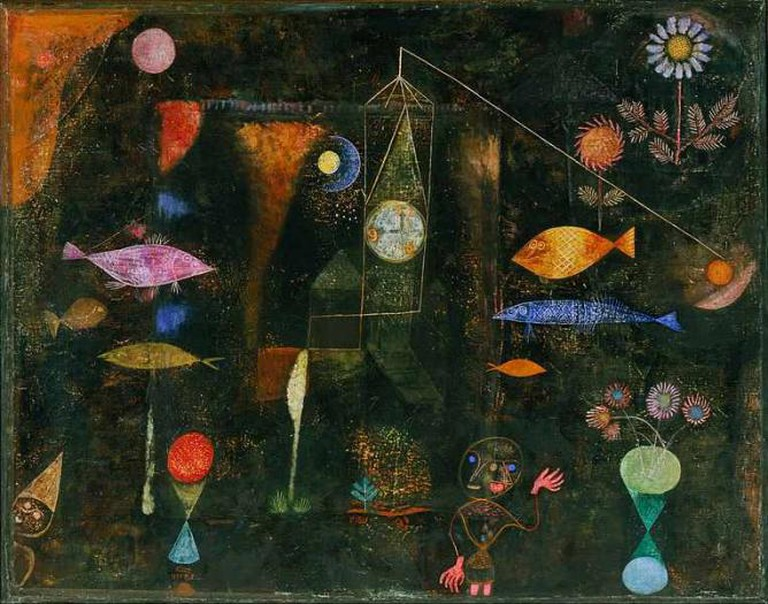 'Fish Magic' (1925) by Paul Klee | WikiCommons