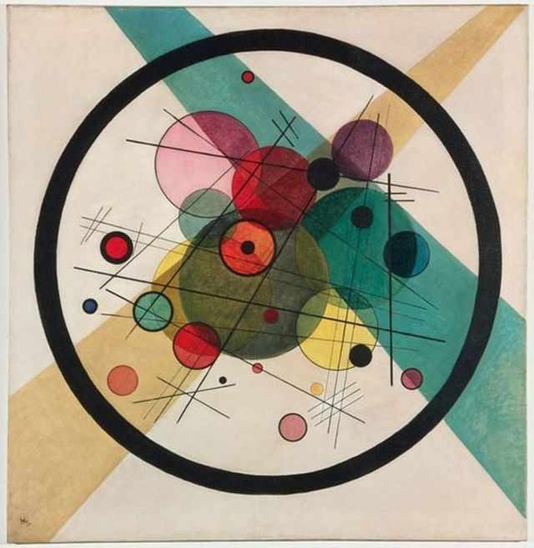 'Circles in a Circle' (1923) by Wassily Kandinsky | WikiCommons