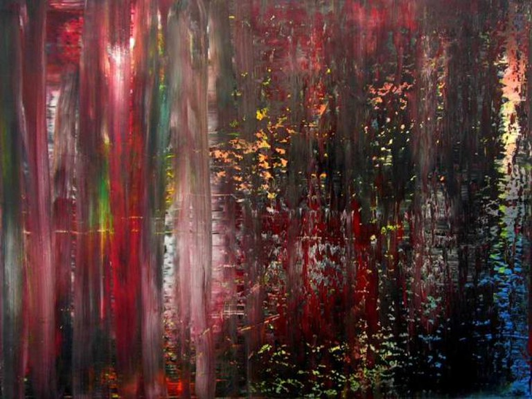 'Abstract Painting, 810-2' (1994) by Gerhard Richter | © Jorge Franganillo/Flickr