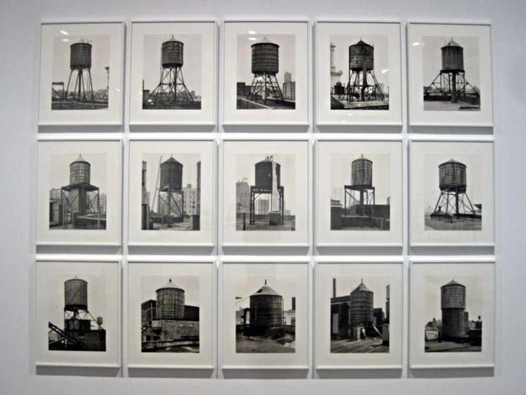 'Water Towers' (1980) by Bernd and Hilla Becher | © Alvaro/Flickr