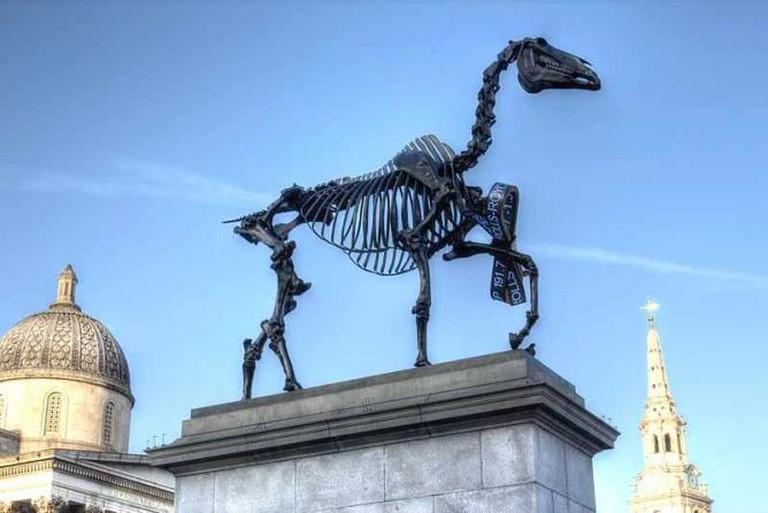 'Gift Horse' (2015) by Hans Haacke   WikiCommons