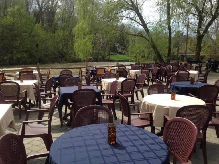 The Waterfront's riverside patio | Courtesy The Waterfront