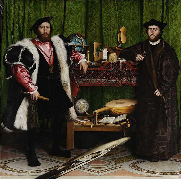 The Ambassadors, Holbein