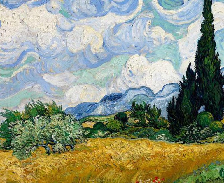 Wheatfield With Cypresses, Van Gogh
