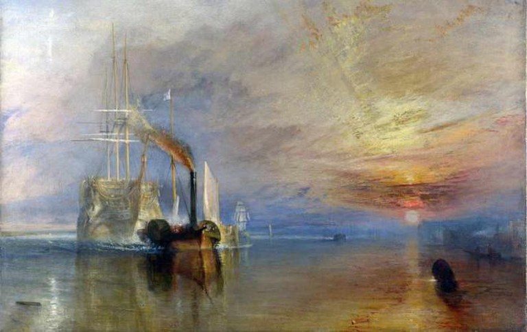 Fighting Temeraire, Turner