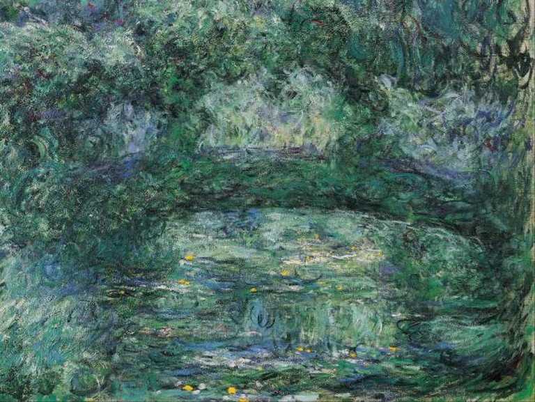 The Japanese Bridge, Monet