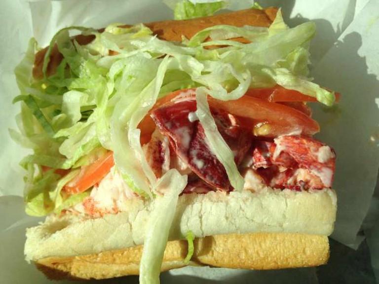 Overflowing Lobster Roll