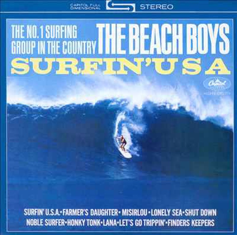 Beach Boys Surfin USA Album Art