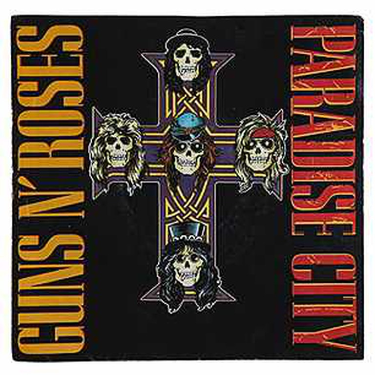 Guns N Roses 'Paradise City' Album Art Promo