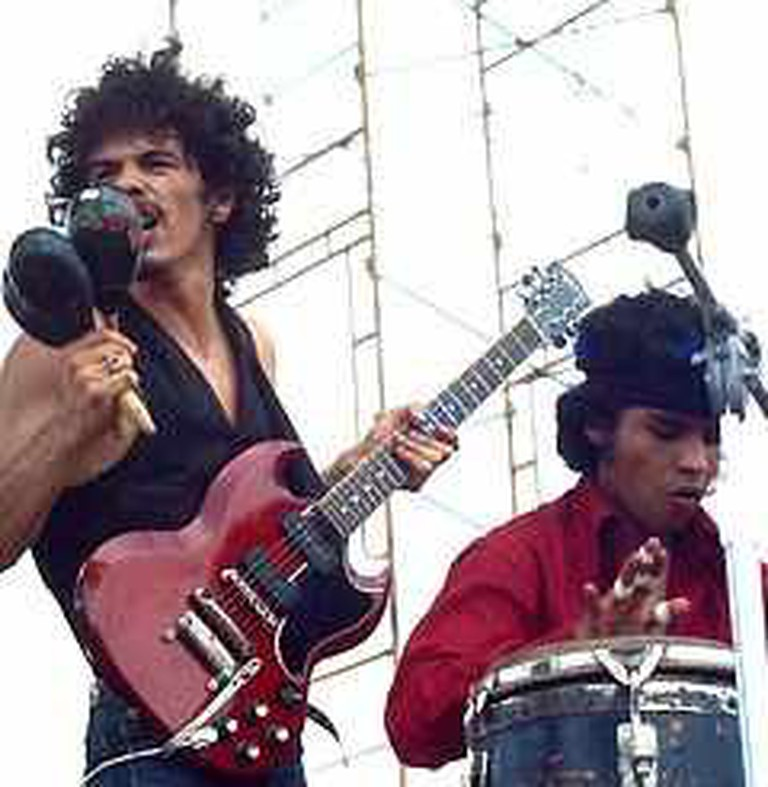Santana Performing 'Soul Sacrifice' at Woodstock '69