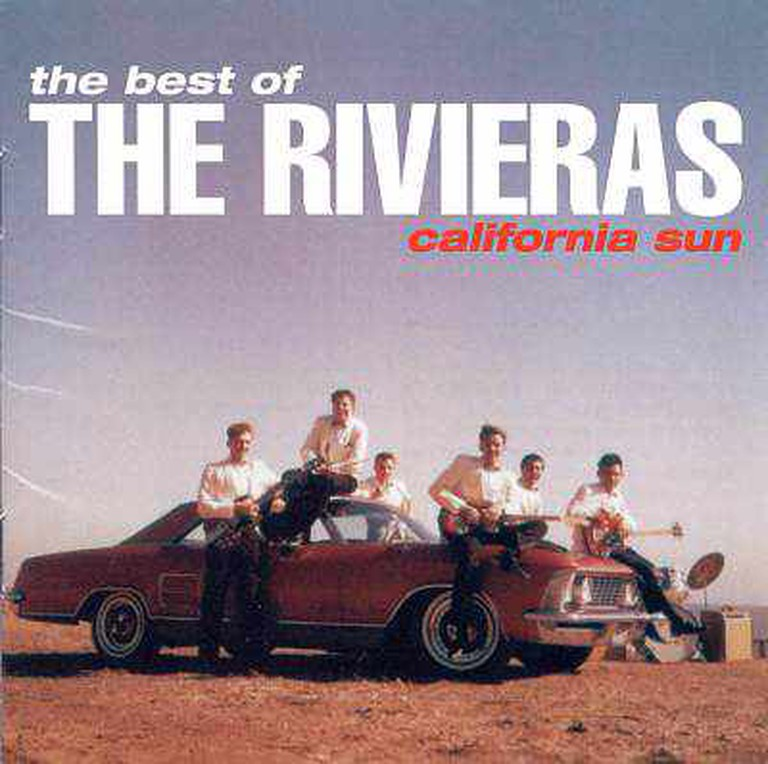 The Rivieras 'California Sun' Album Art