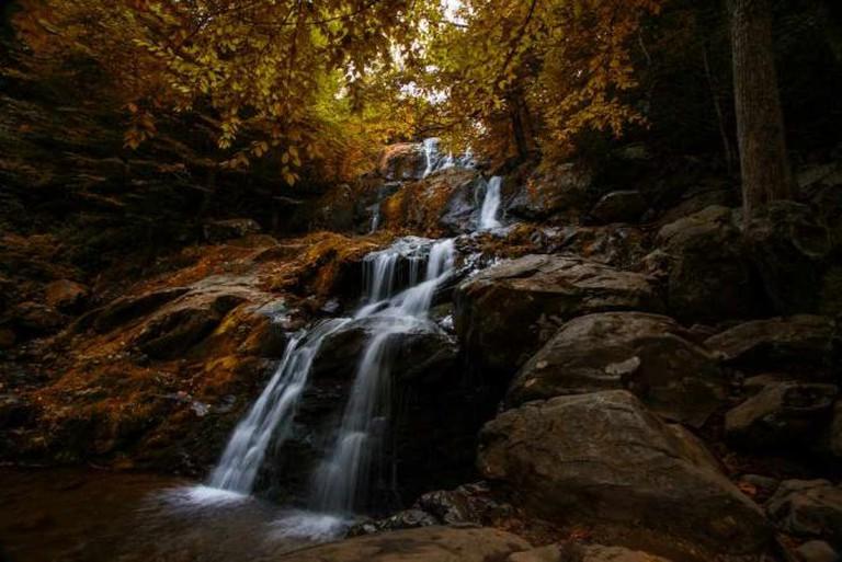 Dark Hollow Falls, Shenandoah National Park | © Jim Lukach/Flickr
