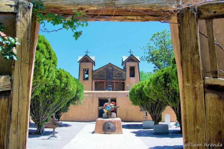 El Santuario de Chimayó, Chimayó | © William Aranda/WikiCommons