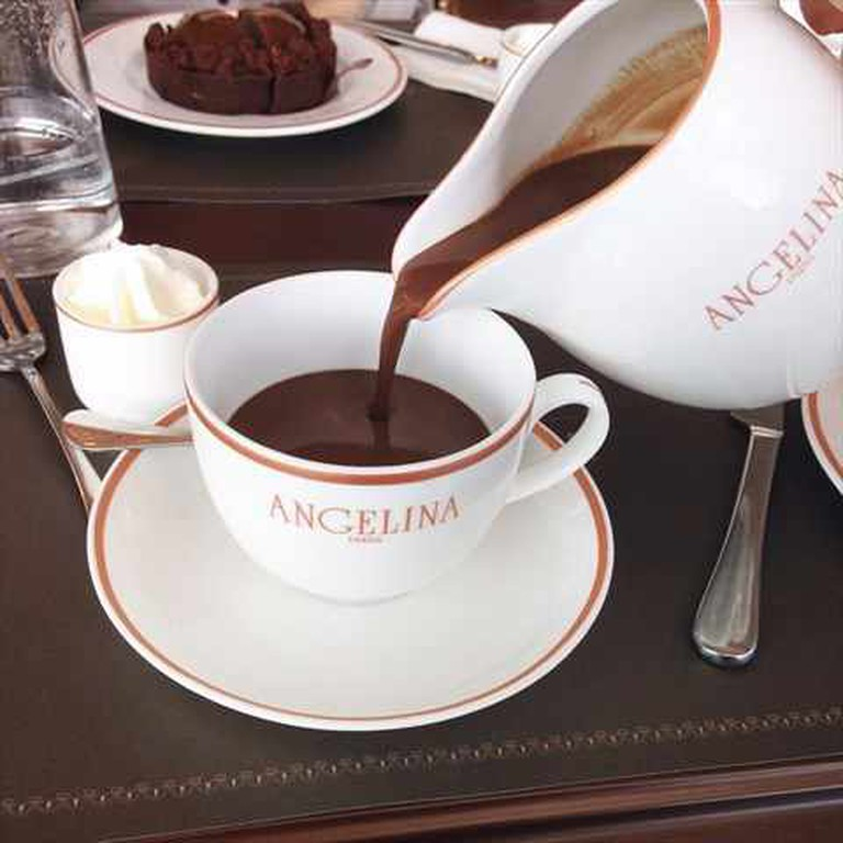 """L'Africain"" Old-fashioned Hot Chocolate 