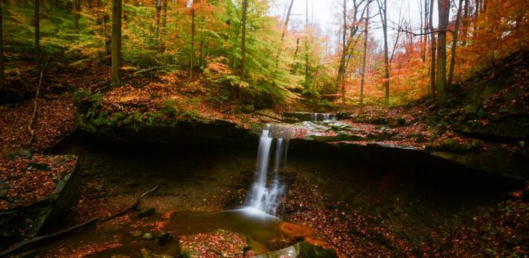 Blue Hen Falls at Cuyahoga Valley National Park