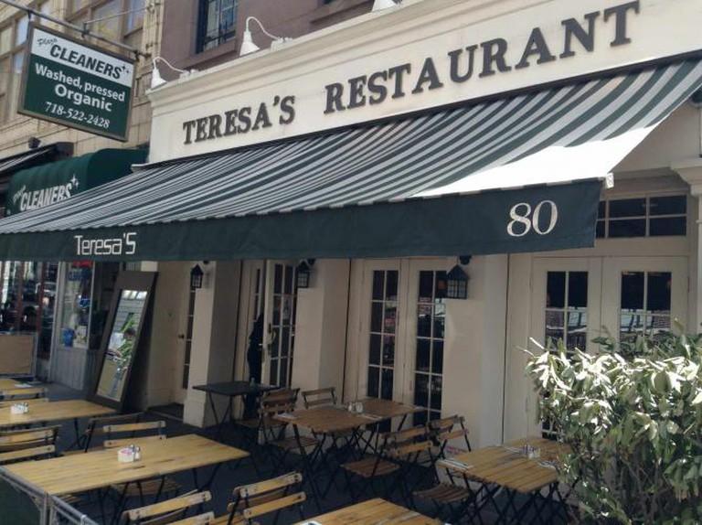 Teresa's Restaurant on Montague Street