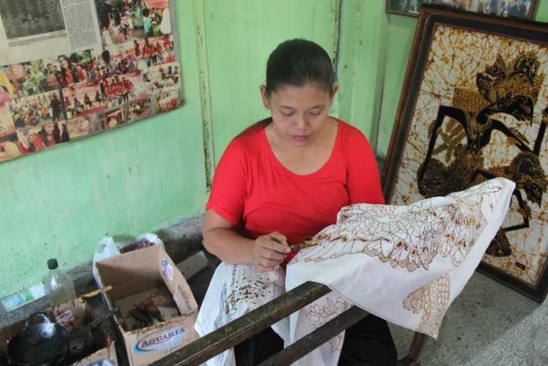 Making Batik in Jogja I