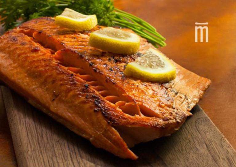 Salmon Dish Courtesy of Rad&Neu