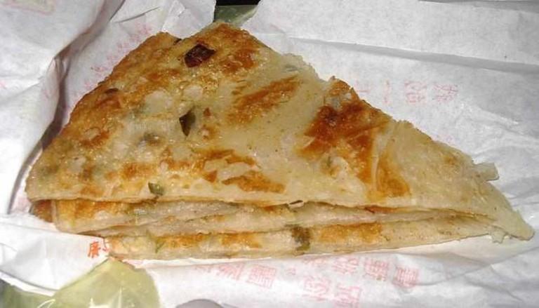 Green onion pancake | © 未命名/WikiCommons