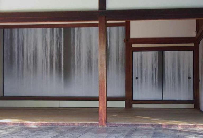 Hiroshi Senju's waterfall murals | © Bnavasky/WikiCommons