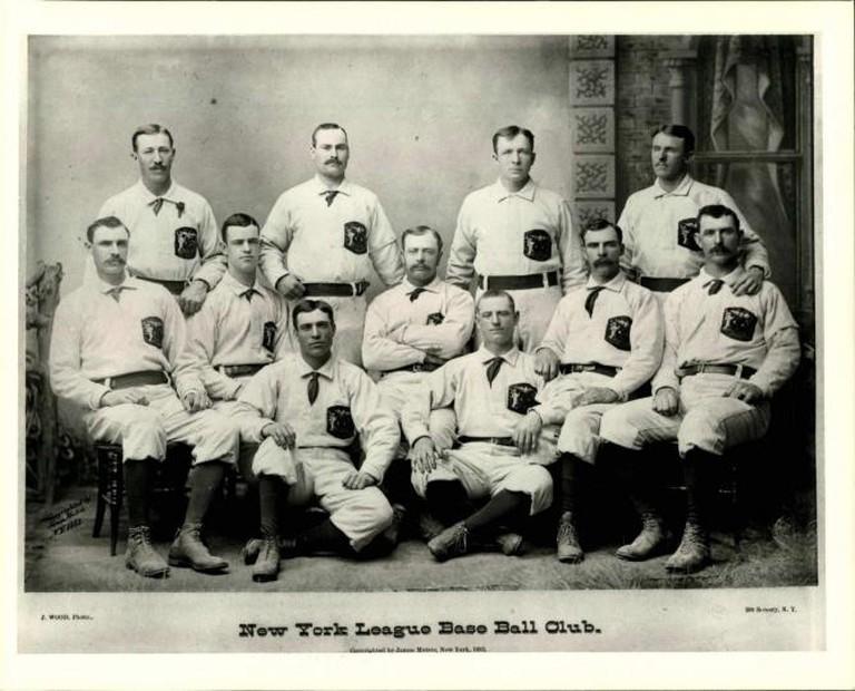 1883 New York Gothams