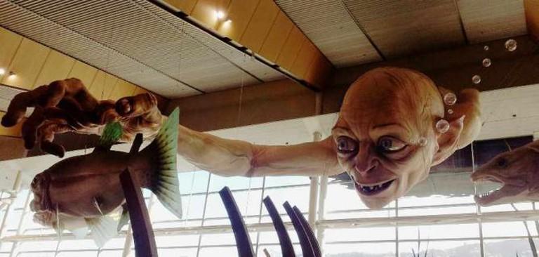 Gollum in Airport