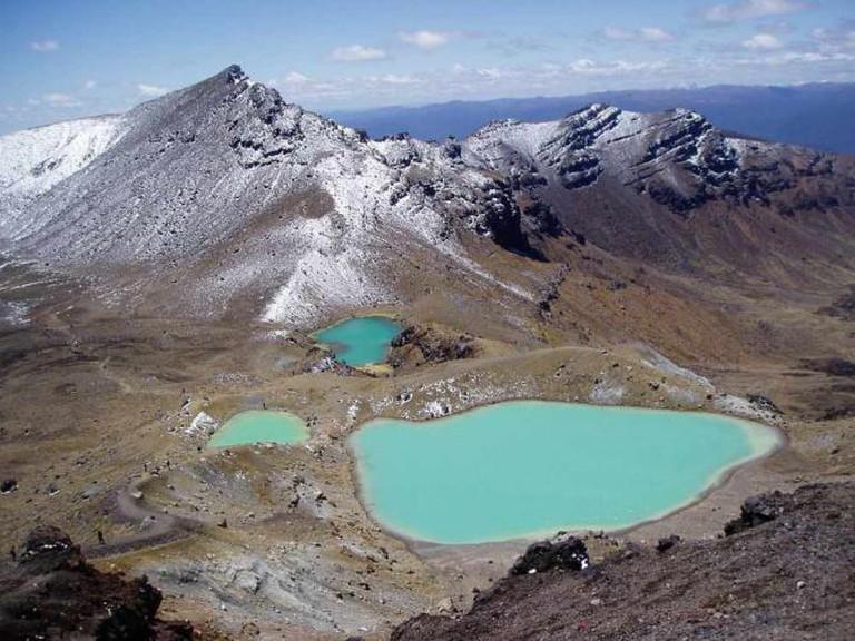 Tongariro Mountain Pass