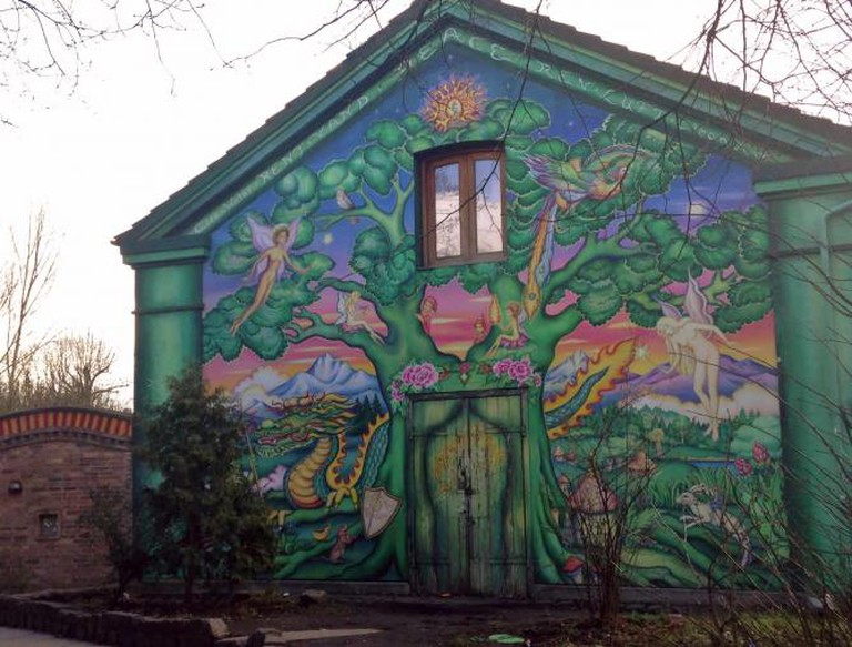 Mural in Christiania | © Hannah Bergin