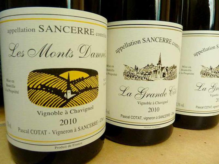 A Creative Commons image: Bottles of Sauvignon Blanc from Sancerre ©dpotera/flickr